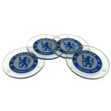 Chelsea FC Glass Coasters